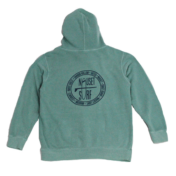 Beaches Logo Garment Dyed Hoodie - Nauset Surf Shop