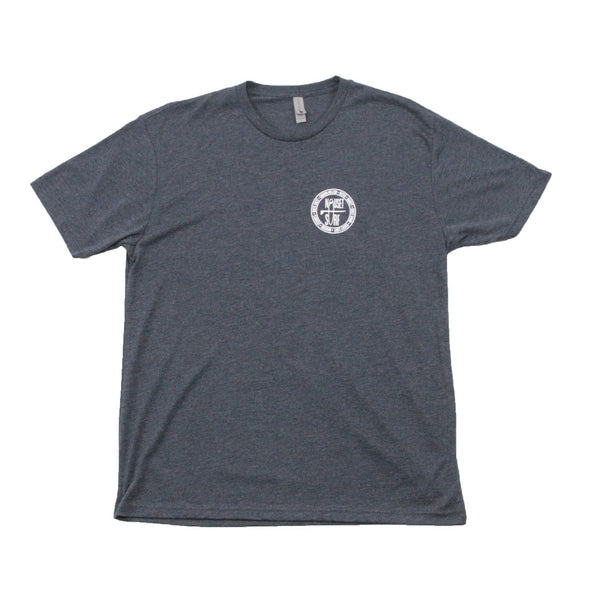 Beaches Logo Men's Tri-Blend T-Shirt - Nauset Surf Shop