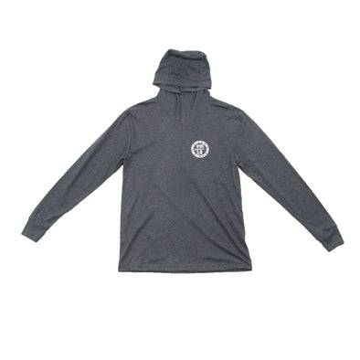 Beaches Logo Unisex Triblend Hooded Long Sleeve Pullover - Nauset Surf Shop