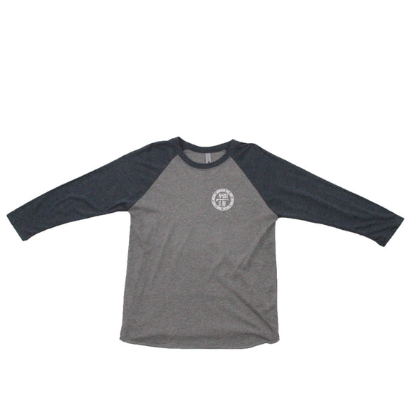 Beaches Logo Unisex Triblend Three-Quarter Sleeve Raglan - Nauset Surf Shop