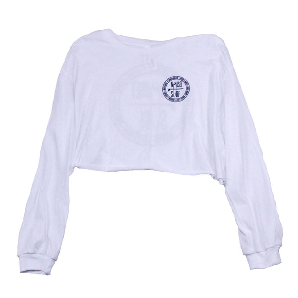 Beaches Long Sleeve Cropped T Shirt - Nauset Surf Shop