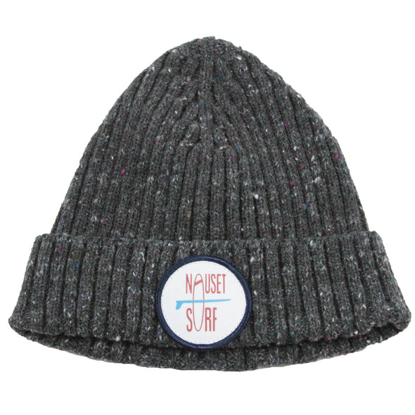 Beanie - Ribbed Wool Blend - Nauset Surf Shop
