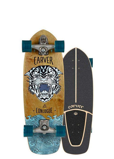 "Carver 29.5"" Conlogue Sea Tiger Surfskate- C7 Trucks - Nauset Surf Shop"