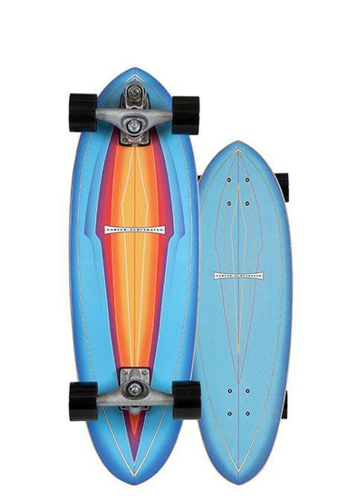 "Carver 31"" Blue Haze Surfskate Complete- C7 Trucks - Nauset Surf Shop"