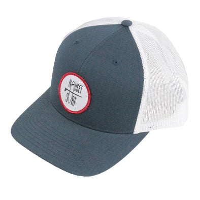 Circle Classic Logo Trucker Hat - Nauset Surf Shop