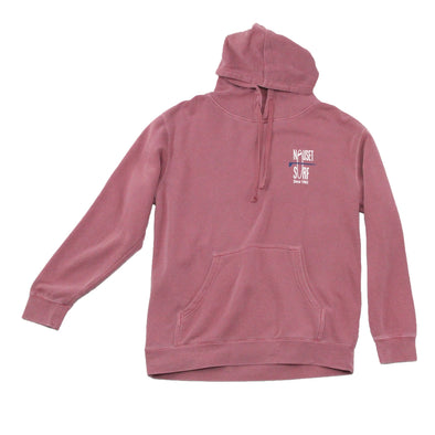 Classic Logo Garment Dyed Hoodie - Nauset Surf Shop