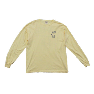 Classic Logo Garment Dyed Long Sleeve T-Shirt - Nauset Surf Shop