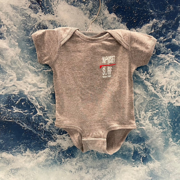 Classic Logo Infant Onsie - Nauset Surf Shop