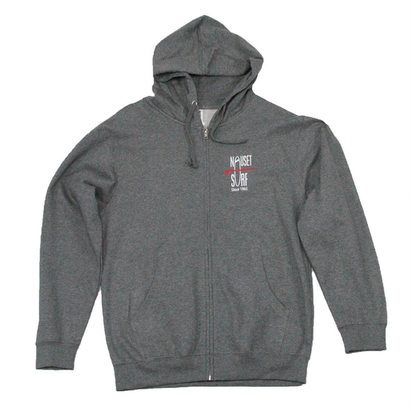 Classic Logo Midweight Full-Zip Hooded Sweatshirt - Nauset Surf Shop