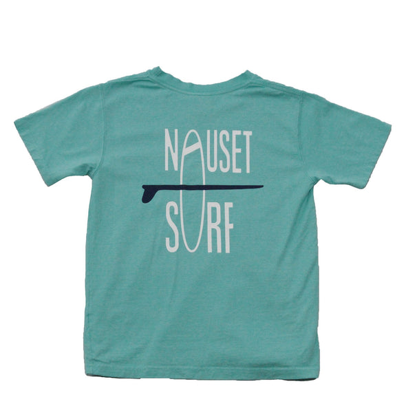 Classic Logo Youth Garment Dyed Midweight T-Shirt - Nauset Surf Shop