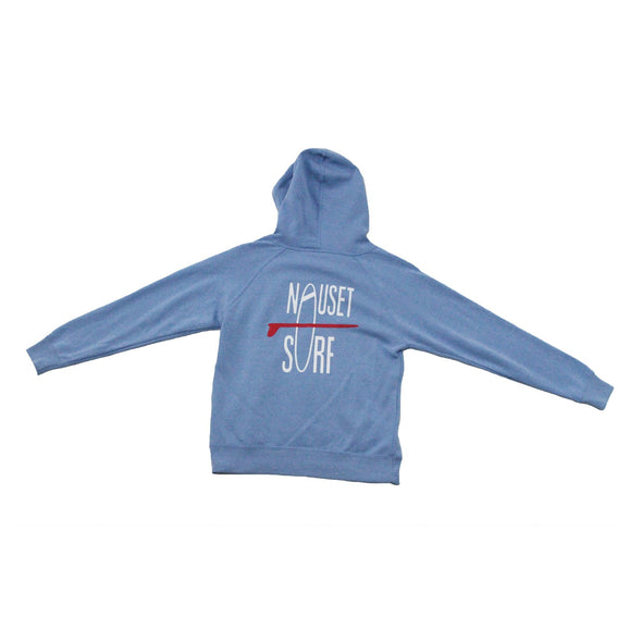 Classic Logo Youth Special Blend Raglan Hooded Sweatshirt - Nauset Surf Shop