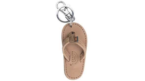 Leather Sandal Key Chain - Nauset Surf Shop