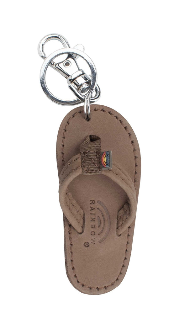 Leather Sandal key Chain (Gift With Purchase. Add to Cart, Use Code: ThanksRainbow) - Nauset Surf Shop