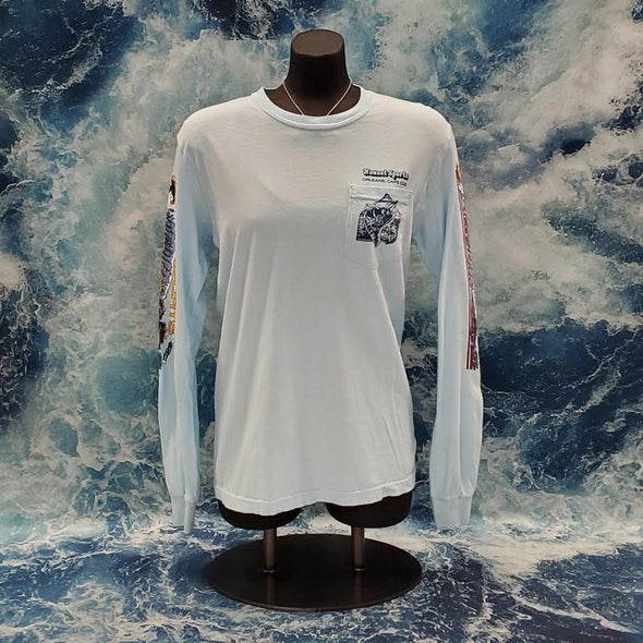 Nauset Sports Vintage 80's Surf Long Sleeve Tee - Nauset Surf Shop
