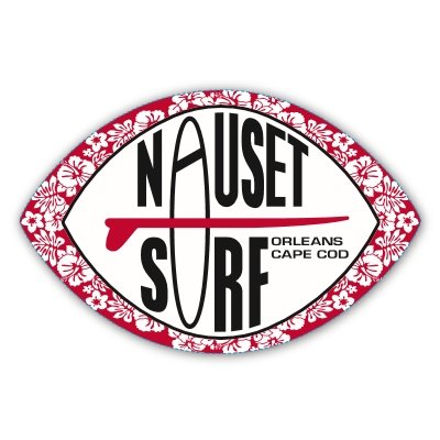 Nauset Surf Patch Logo Stickers - Nauset Surf Shop