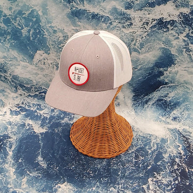 NS Hat Circle TRUCK C12 Red - Youth - Nauset Surf Shop