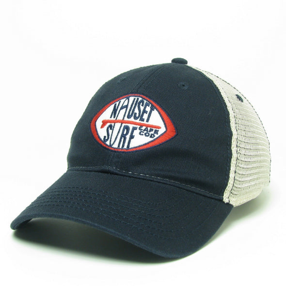 Patch Logo Relaxed Twill Trucker - Nauset Surf Shop