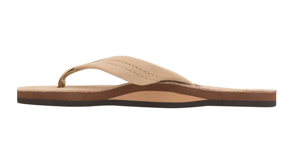 "RAINBOW Women's Single Layer Premier Leather with 1"" Strap- Sierra Brown - Nauset Surf Shop"