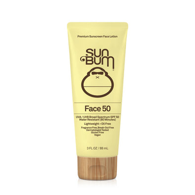 SUN BUM Original Face SPF 50 Sunscreen Lotion - Nauset Surf Shop