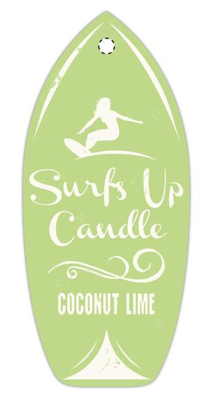 Surf's Up Candle- Air Freshener - Nauset Surf Shop