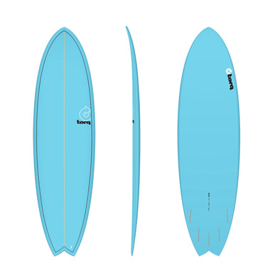 TORQ 6'6 FISH PINLINE BLUE - Nauset Surf Shop