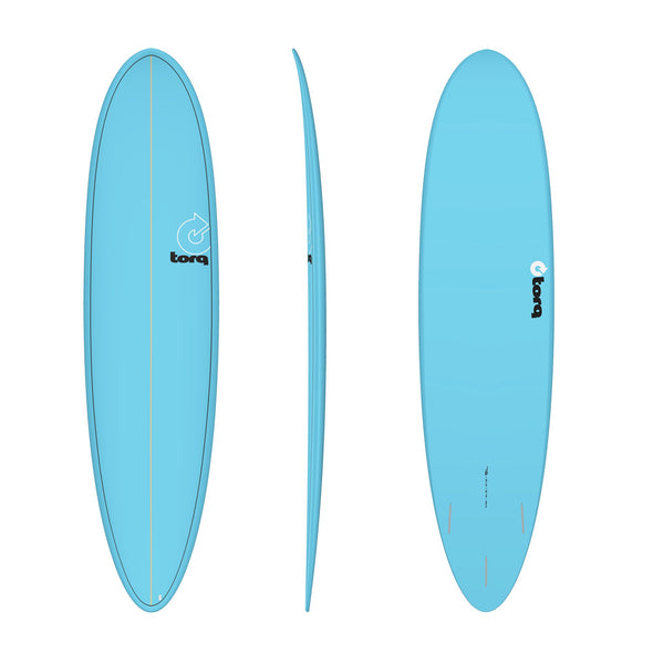 TORQ 7'6 FUN PINLINE BLUE - Nauset Surf Shop
