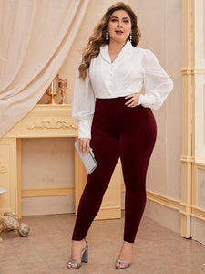 Plus Velvet Leggings