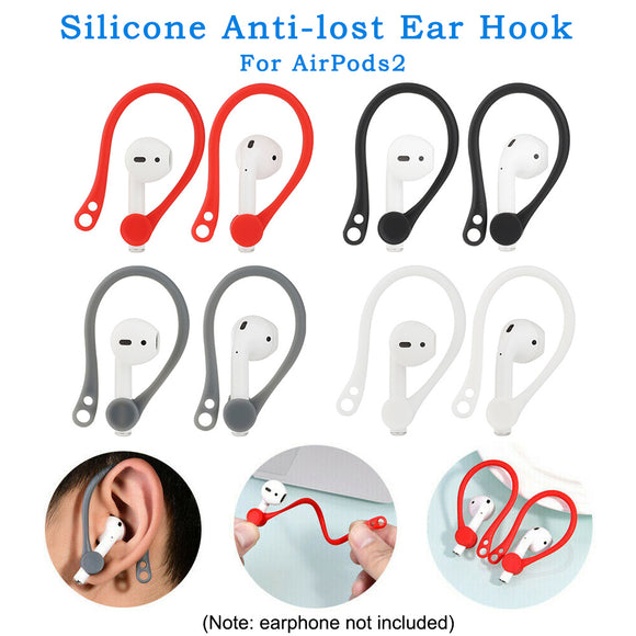 1Pair Earhook with Holder Strap for AirPods