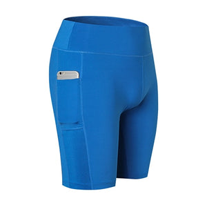 Pocket Fitness Tight Gym Running Shorts-Sunshine's Boutique & Gifts