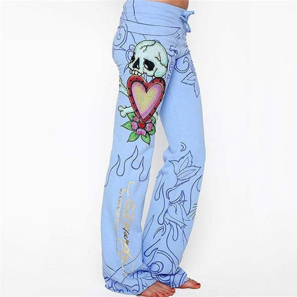 Casual Women Baggy Wide Leg Pants