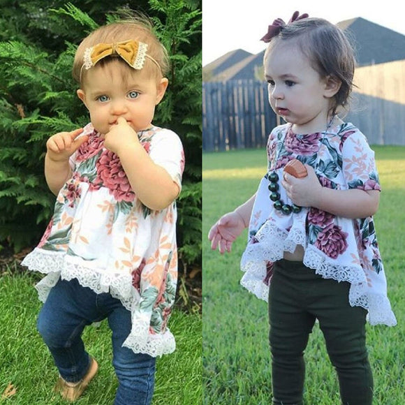New Toddler Baby Girl Top