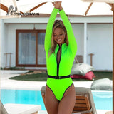 Fluorescent Bathing Suit