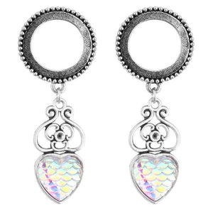 2pcs Stainless Steel Screw Dangle Ear Plugs-Sunshine's Boutique & Gifts