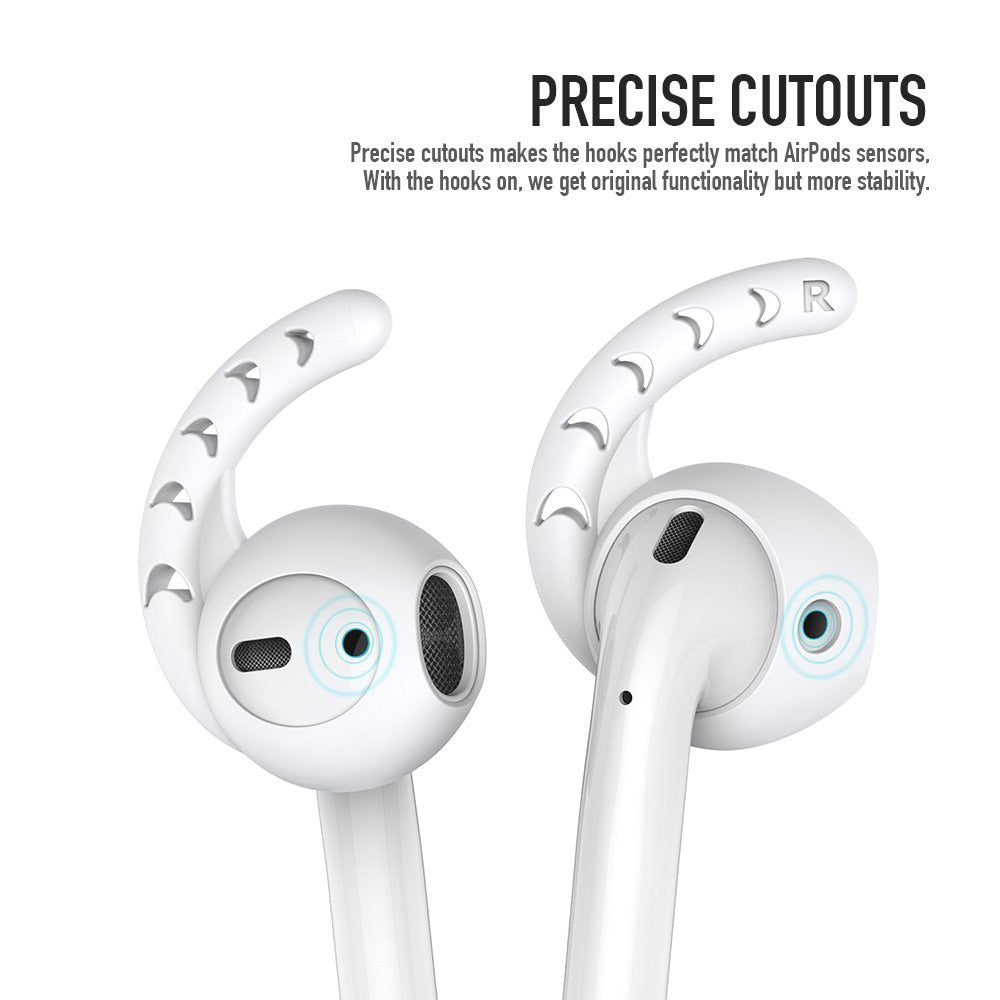 3 Pair Shockproof Soft Silicone Earbuds For Airpods