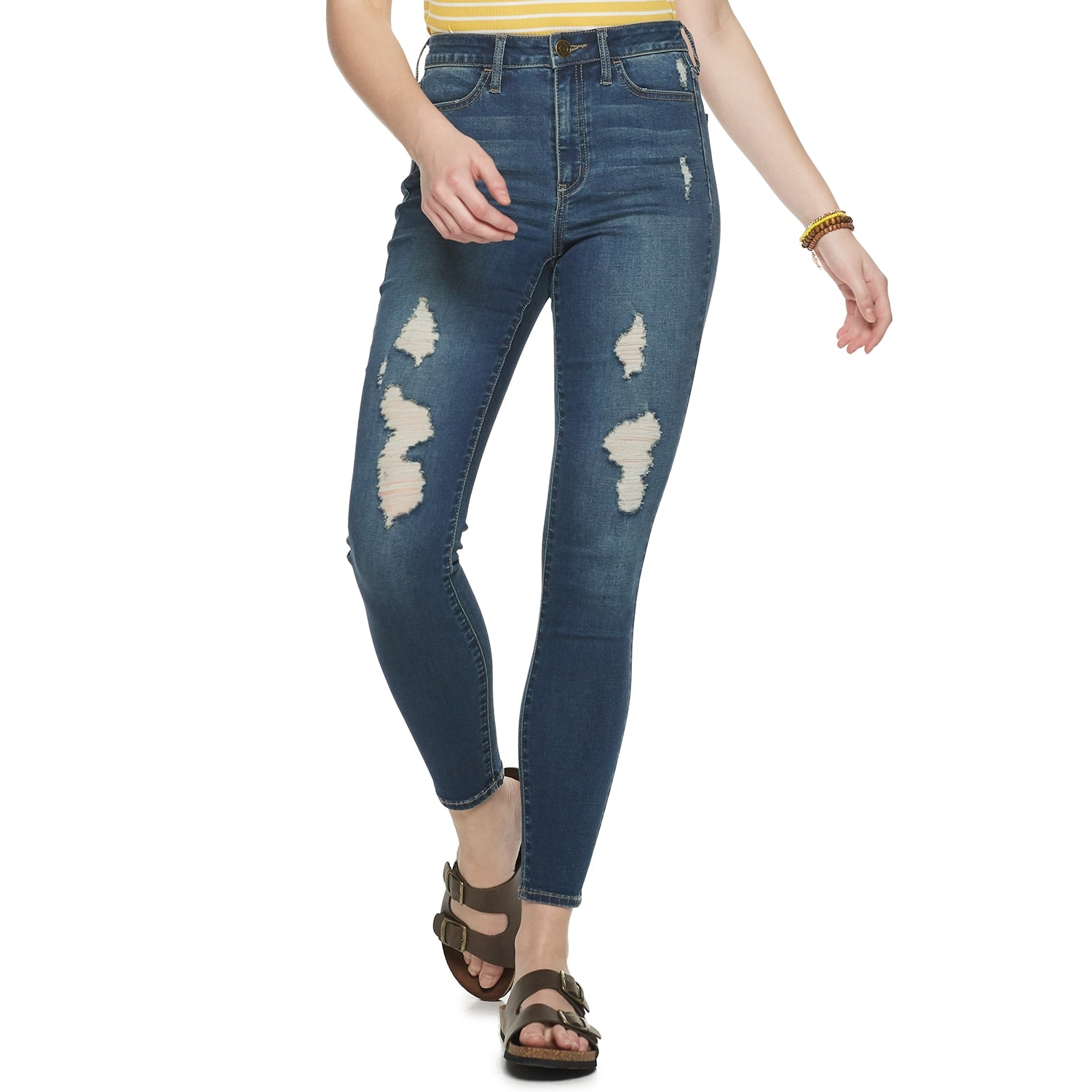 Juniors High-Rise Ultimate Jegging