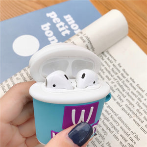 3D Ice Cream Wireless Headset Cases For Apple Airpods 1/2