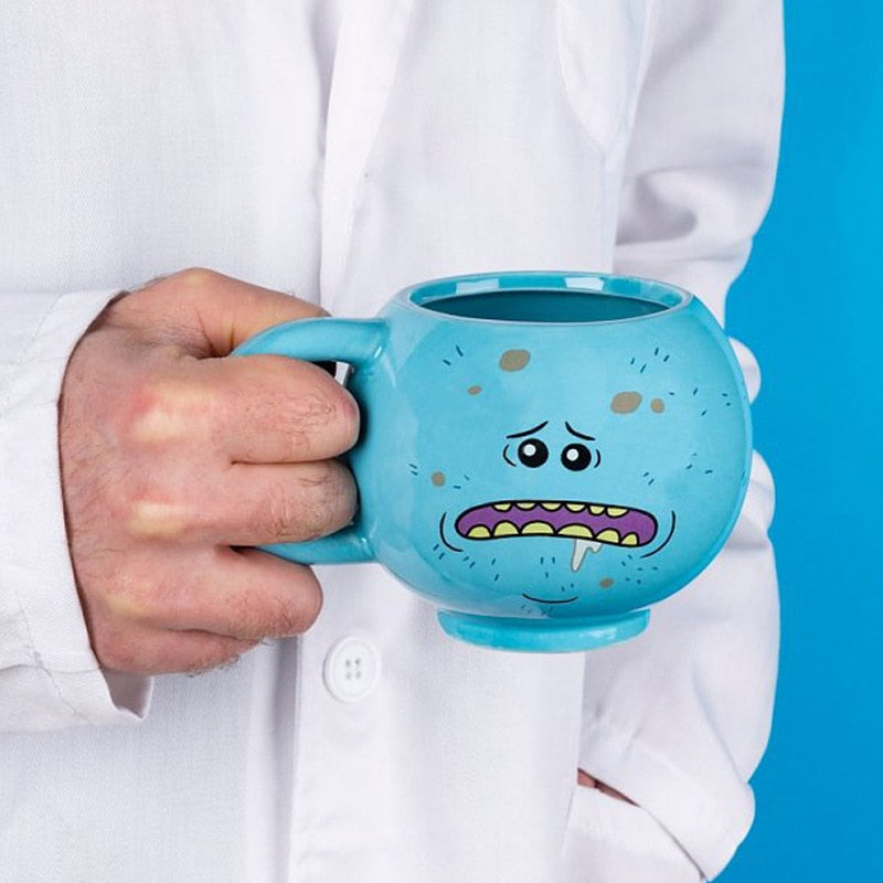 3D Rick and Morty coffee mug