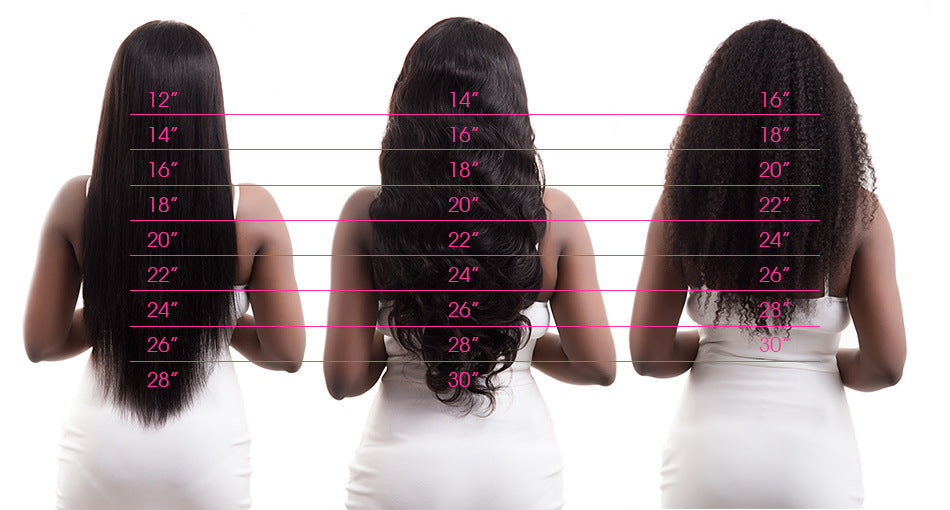 Kinky Straight Brazilian Hair Weave Bundles Human Hair-Sunshine's Boutique & Gifts