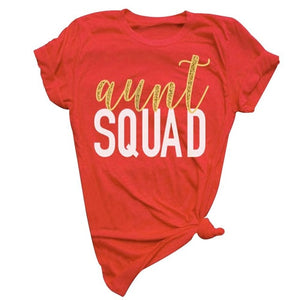 Aunt Squad Short Sleeve T-Shirt-Sunshine's Boutique & Gifts