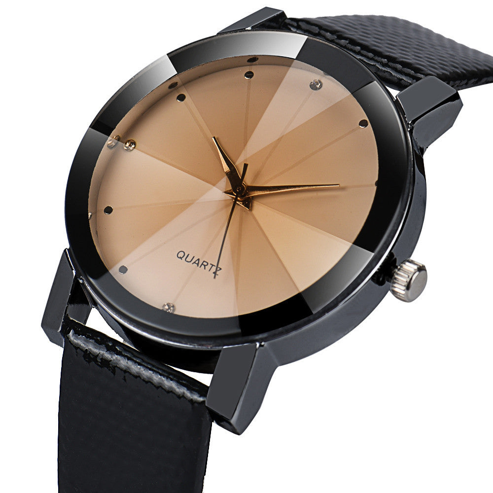Fashion Luxury Quartz Military Stainless Steel Leather Band-Quartz Watches-Sunshine's Boutique & Gifts