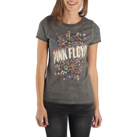 Pink Floyd Hi Lo Shirt Juniors Graphic Tee