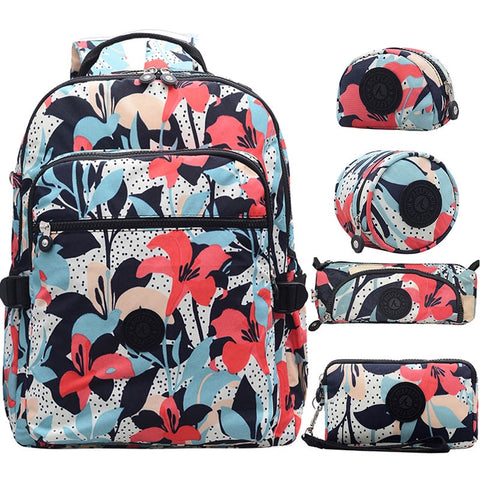 Women 5PC Backpack Set-Sunshine's Boutique & Gifts