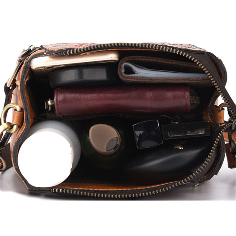 Genuine Leather Handbag-Sunshine's Boutique & Gifts