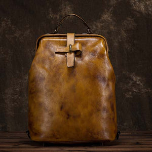 Handmade leather backpack-Sunshine's Boutique & Gifts