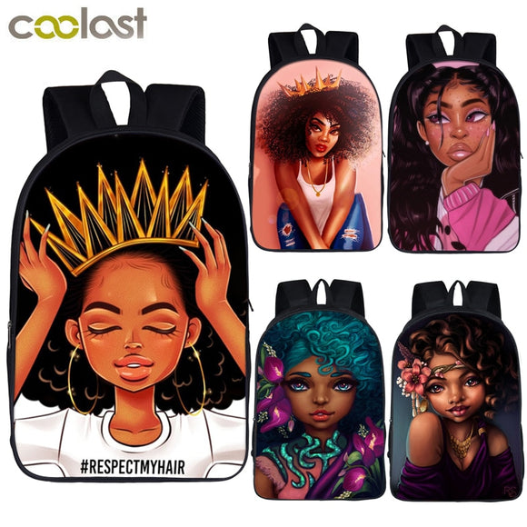 African Beauty Princess Backpack-Sunshine's Boutique & Gifts