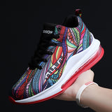 Lace Up Doodle Outdoor Sports Running Shoes