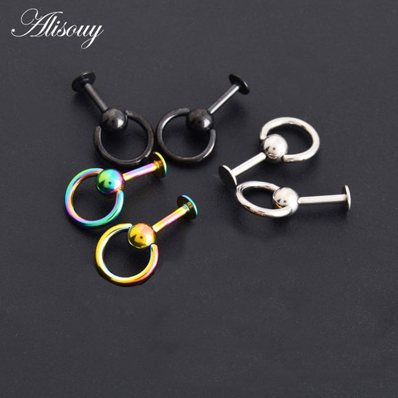 1PC 316L Surgical Steel tragus Piercing-Sunshine's Boutique & Gifts