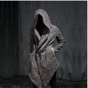 Men gothic hooded trench coat-Sunshine's Boutique & Gifts