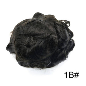 Toupee Indian Remy Human Hair