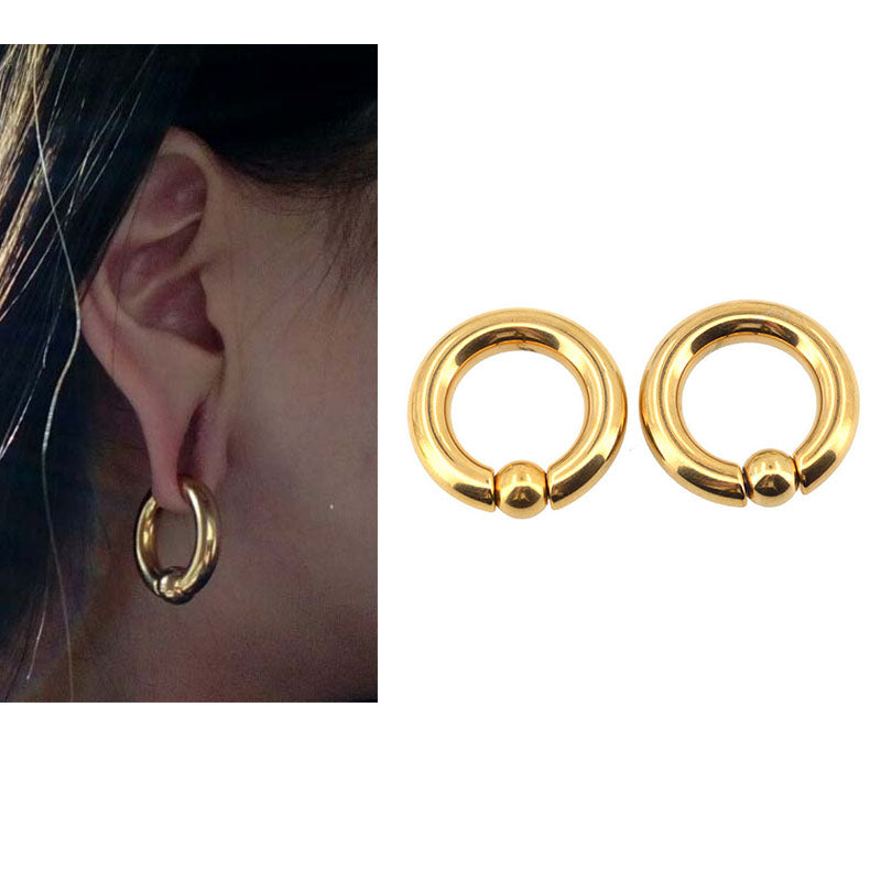 BODY PUNK Piercing Ring Ear Stretcher Weights-Sunshine's Boutique & Gifts